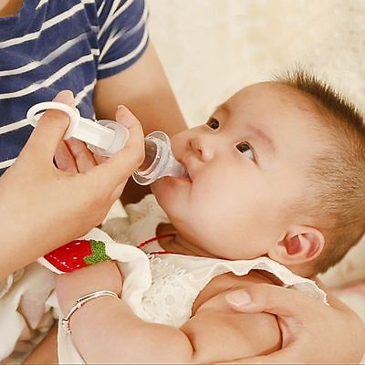 Baby Squeeze Medicine Dropper Needle Feeder Dispenser Flatwar Pacifier Utensils