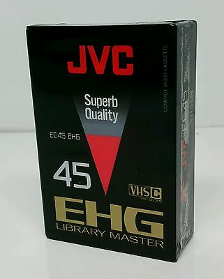 JVC Video EC-45 EHG VHS-C Camcorder Cassette Brand New & Sealed