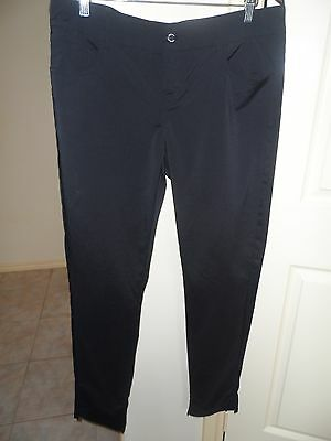 Fayde Ladies Black Golf Trousers- Size 12- Rrp $120.00
