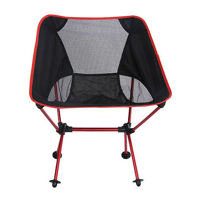 Stool Folding Camping Portable Seat Chair Pouch Fishing Light weight Chair