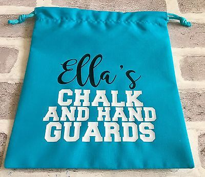 Personalised Gymnastics Grip Bag Chalk Bag Name And Team Or Customise Yourself