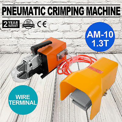 Pneumatic Wire Terminal Mobile Crimping Machine Die set A03C AM10 1.3T Conductor