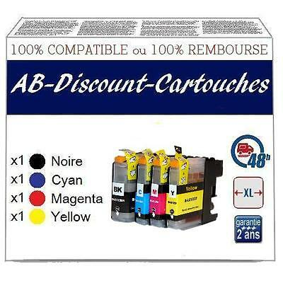 4VE10 Cartouches !!NON OEM !! compatibles avec BROTHER LC123