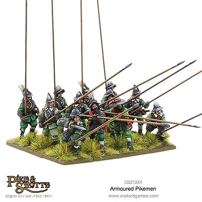 Warlord Games: 28mm Armoured Pikemen (12 miniature)