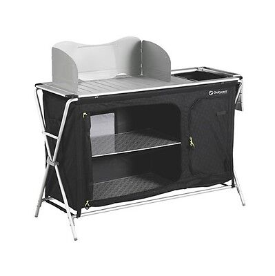Outwell Richmond Camping Kitchen Table & Storage Unit - 2017 Model RRP £119.99 -