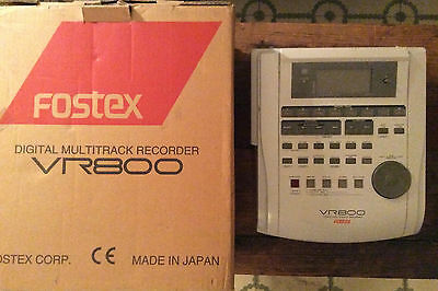 Fostex VR800 digital hard drive recorder ADAT in & outs multipistes numérique