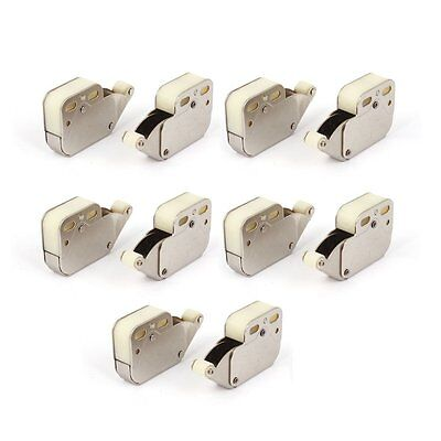 Press Open Door Catch Tip Touch Push Latch for Cabinet Cupboard 10pcs G5N2
