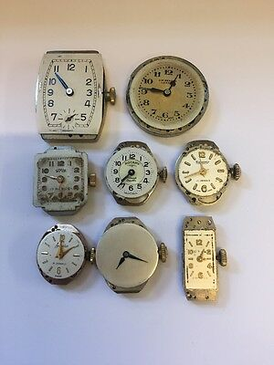 Various Mechanical Watch Movements