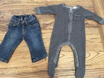 Baby Boy - Bundle - Fred Bare - Jeans And One Piece - Size 00