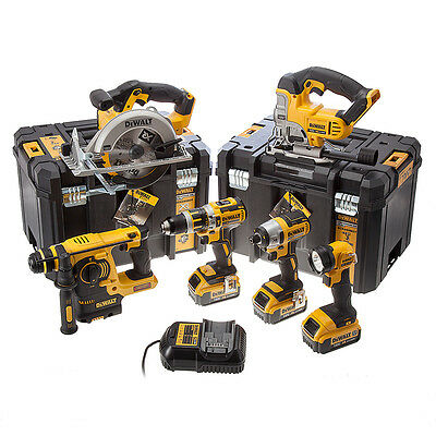 Dewalt DCK699M3T 18v XR 4.0Ah Li-Ion 6 Piece Kit