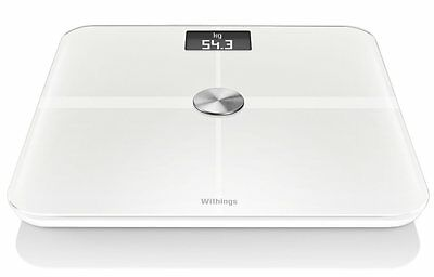 WITHINGS WS-50 Smart Body Analyzer Internet-Connected Scales in White (MA)