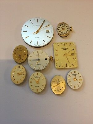 Various Quartz Watch Movements