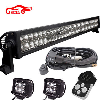 "30 32"" LED Light Bar +2X18W+Remote Kit YAMAHA VIKING 700 VIKING VI 700 2014-2016"