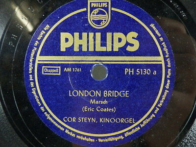Schellackplatte - Marsch - London Bridge - Marching along together