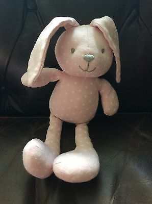 Marks And Spencer Pink Spot Bunny Rabbit Soft Toy