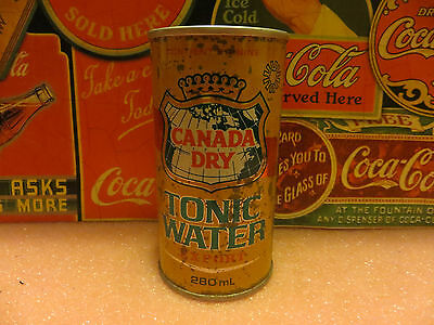 Can canada dry tonic water Export can 280ml old and rare
