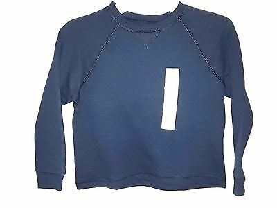 Hanes - Closeout-Boy's  Blue/black/gray Premium-Crew-Soft Sweat-Shirt-Warm-Comfy