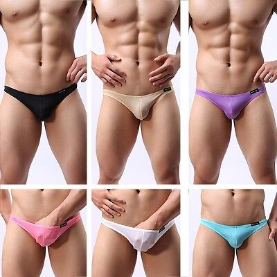Men's Trunks Underwear Boxer Briefs Shorts Bulge Pouch Soft Fashion Underpants M