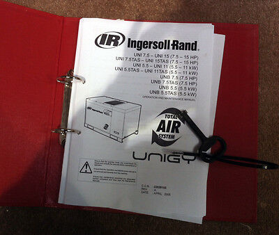 INGERSOLL RAND UNIGY Rotary Screw Air Compressor Dryer