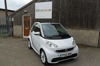 2012 Smart Fortwo 0.8 CDI Passion Cabriolet Softouch 2dr