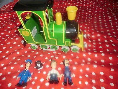 postman pat train and small figures