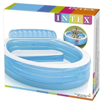 Intex Swim Centre Family Luxury Lounge Pool Garden Summer Inflatable Chair