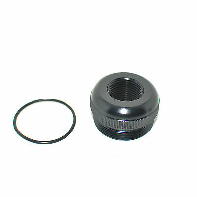 Maglite D Cell Thread Adapter Tail End Cap 13/16-16