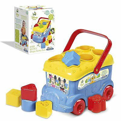 """Clementoni """"Mickey Mouse"""" Sorting Bus"""