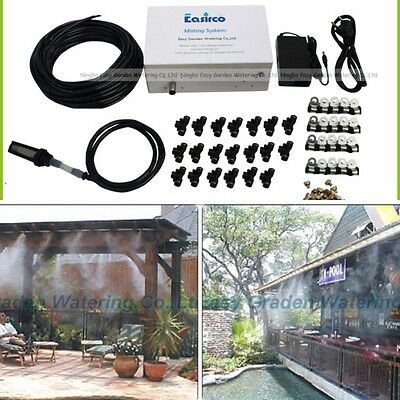 Pump Outdoor Mist Nozzle Cooling System With Brass Low Pressure Misting System