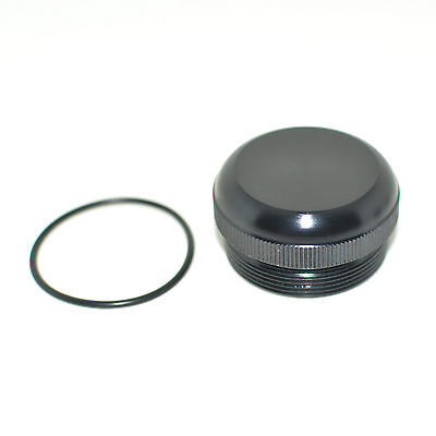 Maglite D Cell Center Unthreaded Adapter Tail End Cap (Center Drilled Only)