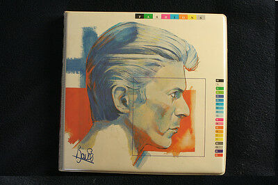 """David Bowie Fashions Collection 10 x 7"""" Picture Disc Singles"""