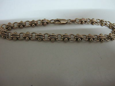 Bracelet Solid 9ct 9K 375 Yellow Gold   bracelet  11g