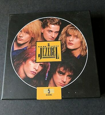 Gene Loves Jezabel-5 Album CD Box Set