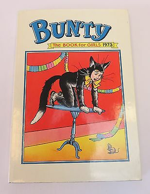 Bunty Book For Girls 1973 With Original Dust Wrapper Excellent