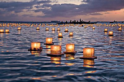 10 Pack Floating Water Lantern & Light Wedding Party Outdoor Garden Decoration