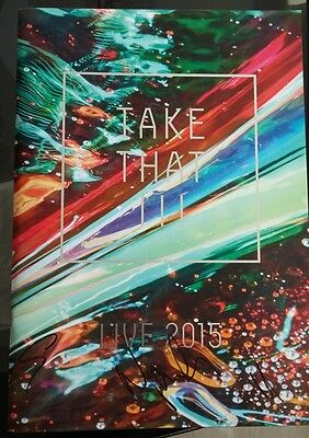Take That III VIP Tour Programme Signed by all 3 members. Fantastic condition!