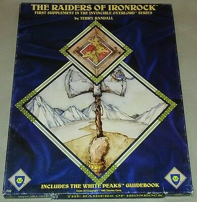 City-State of the Invincible Overlord: Raiders of Ironrock - Mayfair Games #102