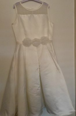 BRAND NEW Girls Party/formal Dress, White, Size 10