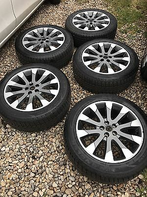 """Land Rover Freelander2 19"""" hst wheels and tyres"""