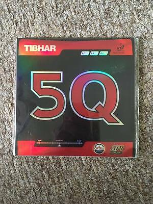 Tibhar 5Q Sound  Table Tennis Rubber 2.1mm Red