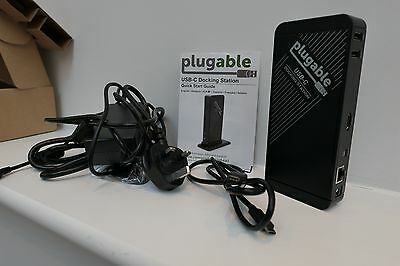 Plugable USB-C Docking Station with Power Delivery UD-CA1