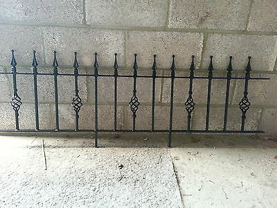 """18"""" High Wrought Iron Metal Fencing/railings Panel Type Rd18"""