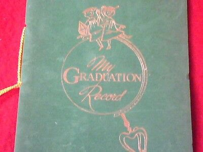 Antique My Graduation Record Grange National Bank Laceyville, Pa.Wyoming County