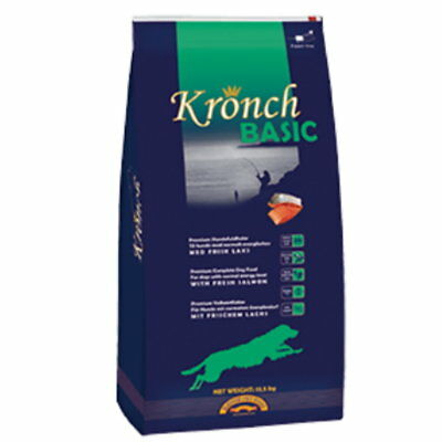 (EUR 3,67/kg) Henne Pet Food Kronch Basic Trockenfutter 13,5kg