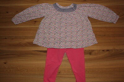 NEXT girls blouse leggings outfit 2-3 years *I'll combine postage