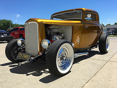 1932 Ford Model A 3 WINDOW 1932 ford coupe