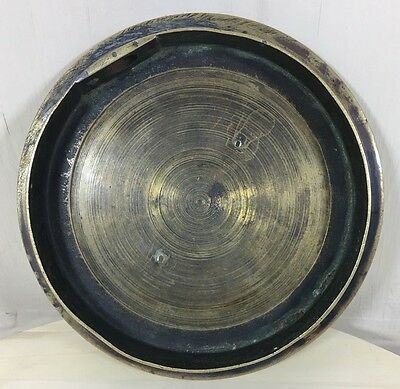 Vintage brass trench art style artillery shell ashtray / coin tray