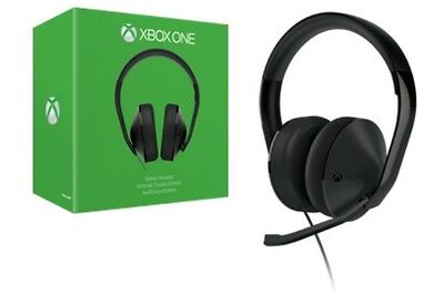 Xbox One Stereo Headset Black New & Sealed FREE EXPRESS POST SAME DAY / DELIVERY