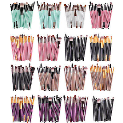 15 pcs/Sets Eye Shadow Cosmetic Makeup Brushes Set Lip Eyebrow Brush Kits Tools