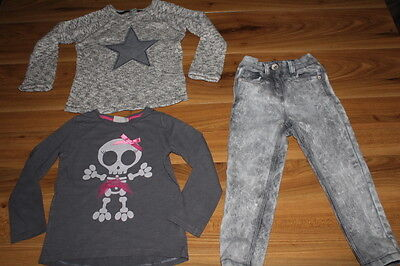 NEXT girls grey outfit bundle 2-3 years *I'll combine postage